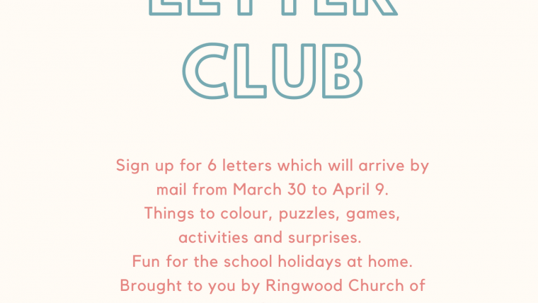 Easter Letter Club