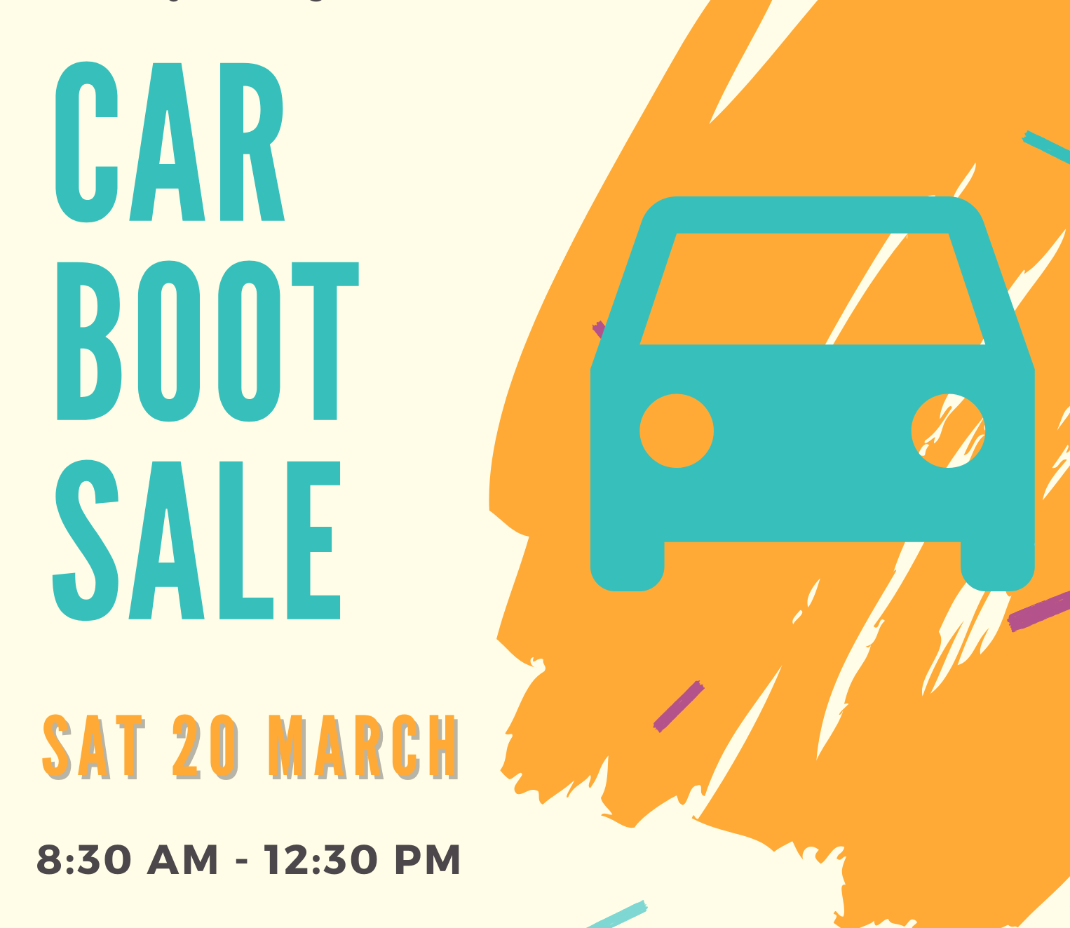 Car Boot Sale 2021