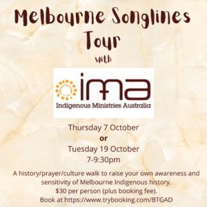 Melbourne Songlines Tour