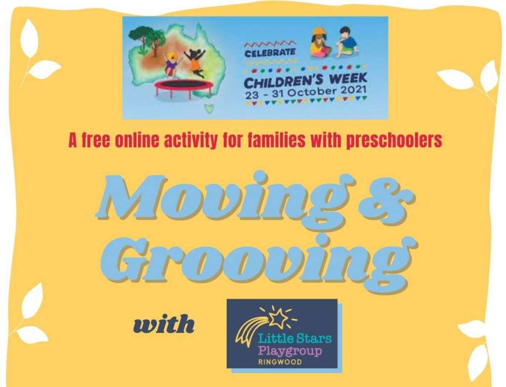 Moving & Grooving with Little Stars Playgroup
